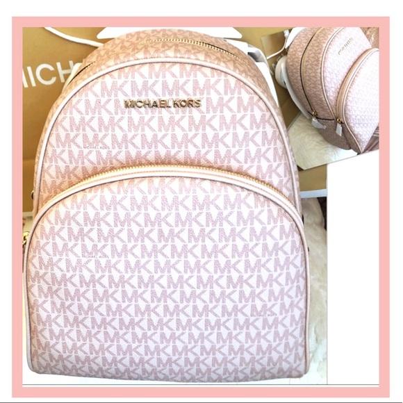 Michael Kors Handbags - Michael KORS Backpack Abbey Ballet W Shopping Bag
